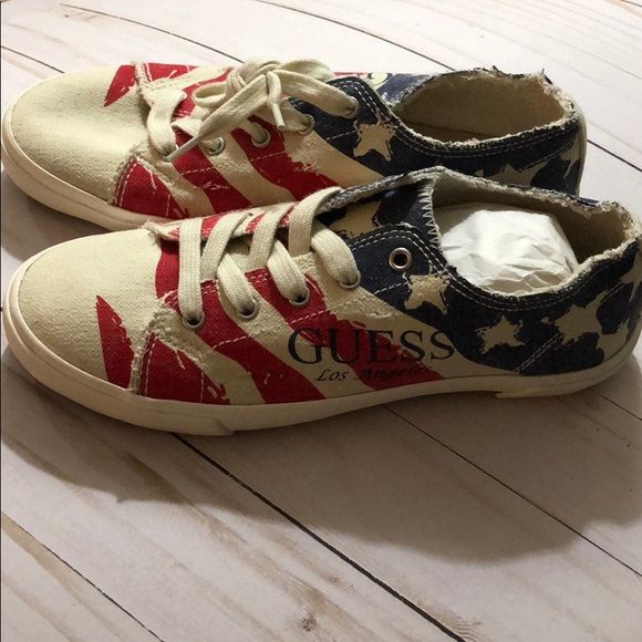 Guess Shoes - GUESS. Sneakers American Flag